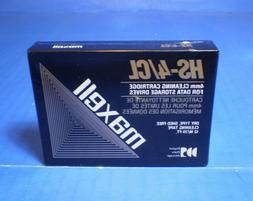 Maxell 4mm Cleaning Cartridge Data Storage Drives Model HS-4