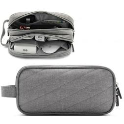 Electronic Organizer Travel Storage Bag USB Cable Data Acces