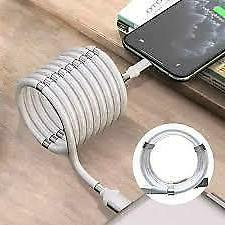 Magnetic Data Cable Strong Auto Storage Magic Rope Type C Ca