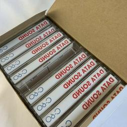 Lot of 10 Audio Cassette Tape Cases Clear Hard Storage Box B