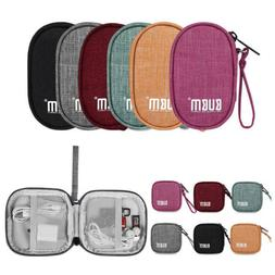 Portable Travel Earphone Data Cable Wire USB Holder Organize