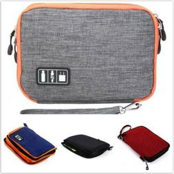 Travel Double-layer Waterproof Storage Bag Case Cover iPad D