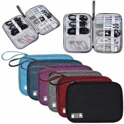 Travel Storage Bag Electronics USB Charger Case Data Cable W